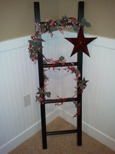 Decorative Ladder   Oh So Prim   Pinterest