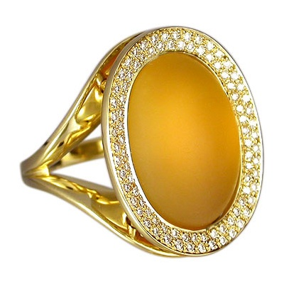 Super Cool and elegant.  Diamonds and Citrine