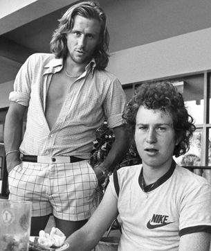 Borg - McEnroe (photo DR)