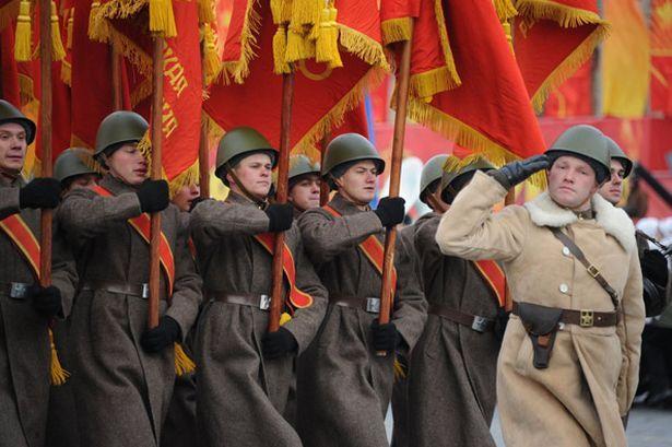 russian flag world war 2