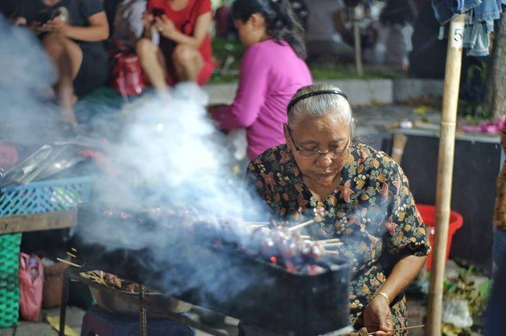 Sate di pasar Kangen Yogyakarta