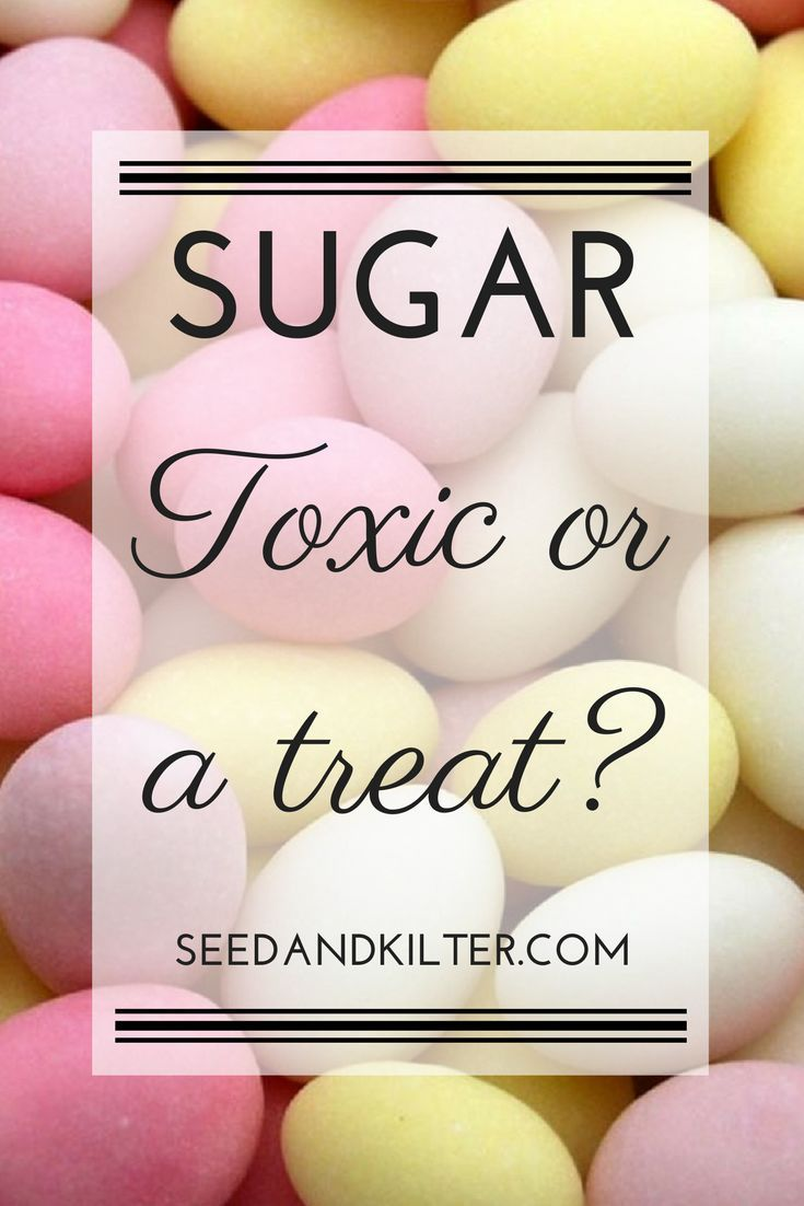 Sugar: Something that makes the medicine go down? Or a sinful poison?