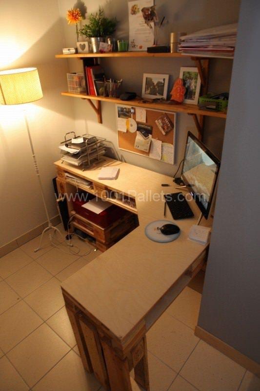 Pallets Creations For Spa & Office Pallet Desks & Pallet Tables Pallet…