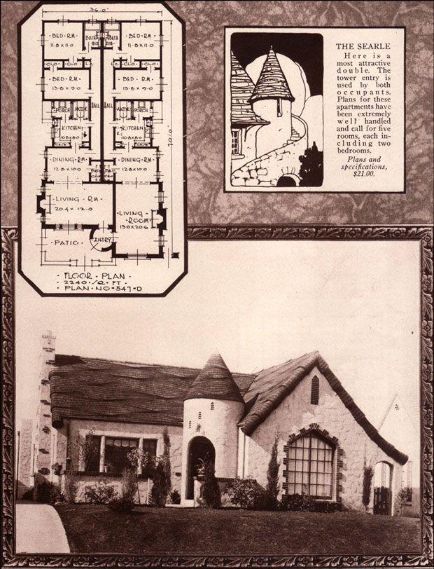 1928 Searle   Matot Construction Duplex