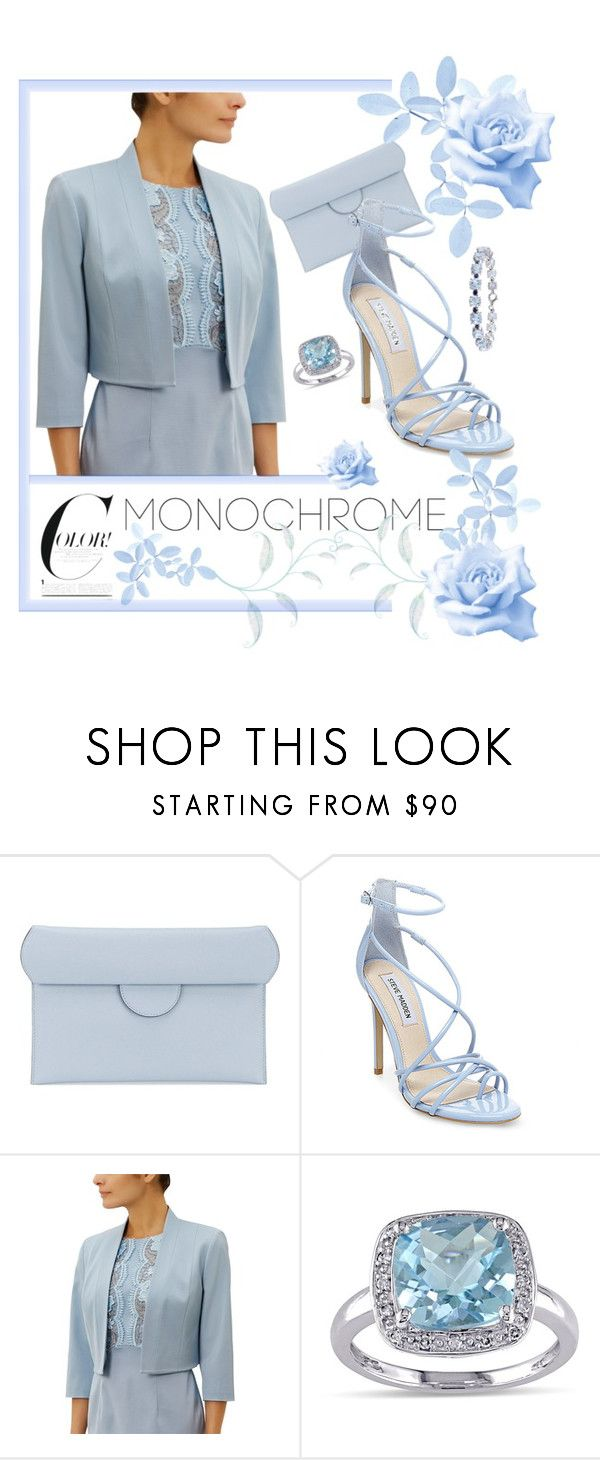 """All Ocean Blue"" by coastalcatches ❤ liked on Polyvore featuring Roksanda, Steve Madden, Fenn Wright Manson and Miadora"