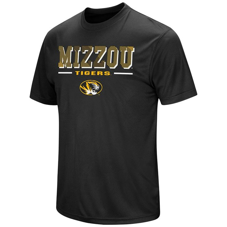 Men's Colosseum Missouri Tigers Embossed Tee, Size: Medium, Oxford