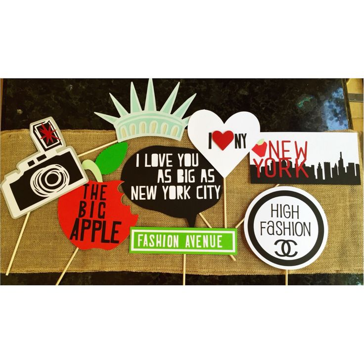 49 best I Love New York images on Pinterest Birthday party ideas