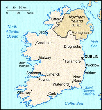 Country Map Of Ireland.Fun Facts About Tourism To Ireland Ireland Ireland Map County