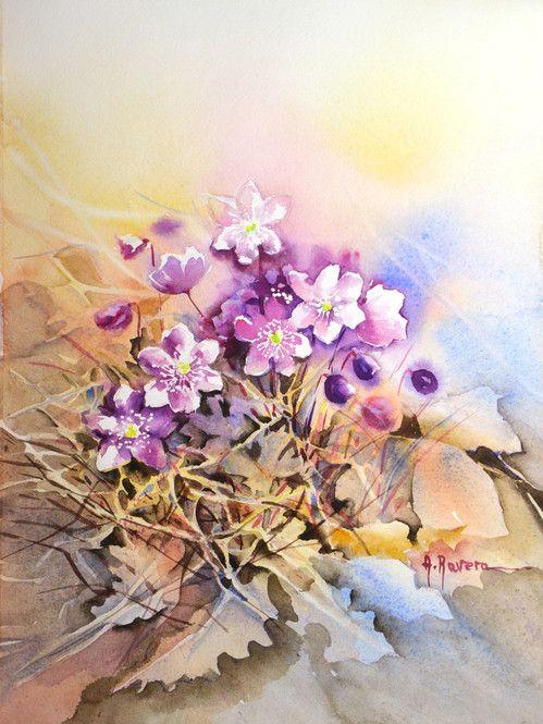 Blog - Watercolours by Anna Ravera