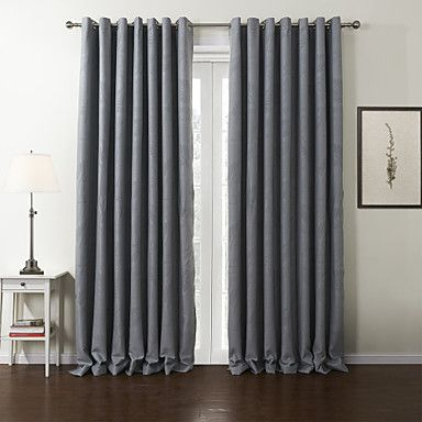 (Two Panels) Leaf Neoclassical Blackout Curtain – AUD $ 96.30