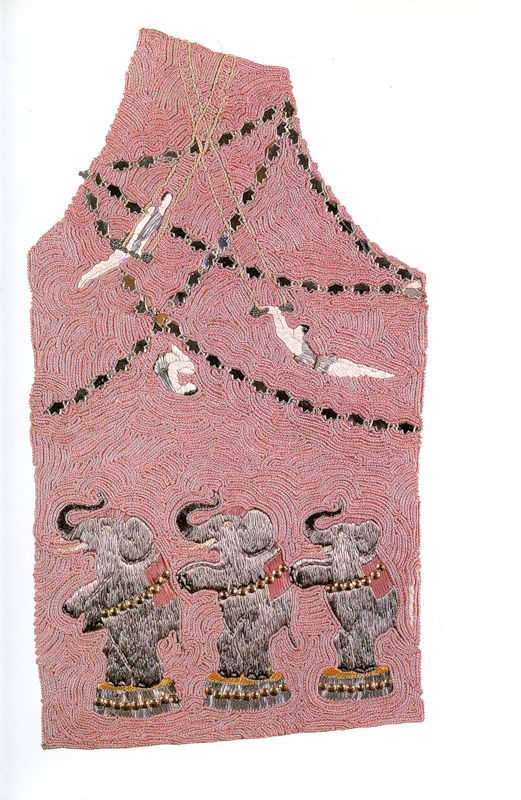 Elsa Schiaparelli, Collection Circus, embroidered by Lesage