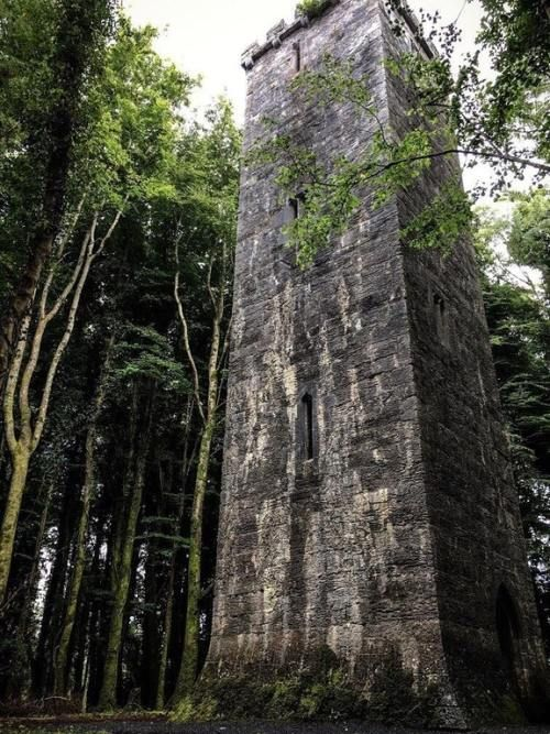 "bmxphotofreak: "" sixpenceee: "" ""This tower we found in an Irish"