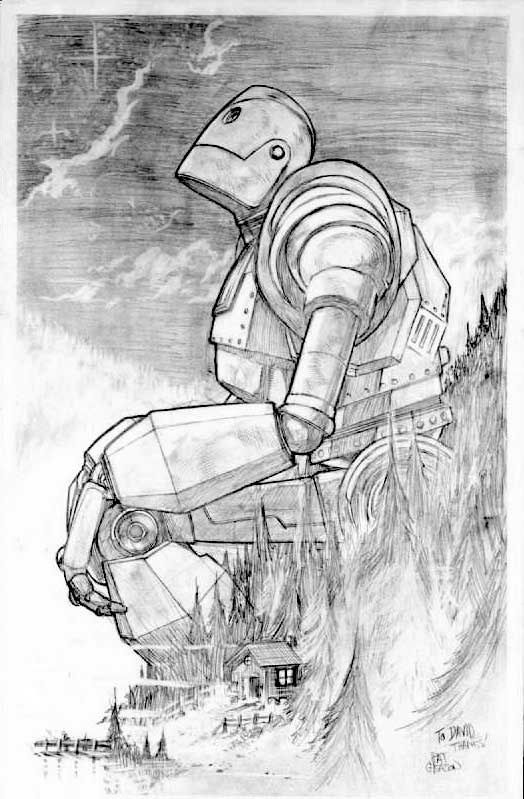 You are who you choose to be~                     Iron Giant
