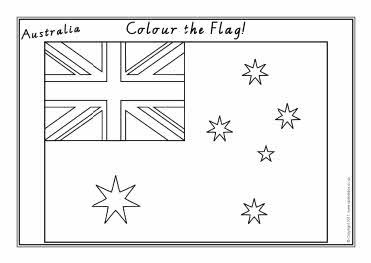 Australian flags colouring sheets (SB3680) - SparkleBox