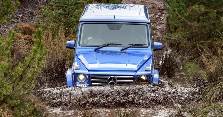 Mercedes 4x4s Traverse The UK Without Using Public Roads At All #Mercedes #Mercedes_G_Class