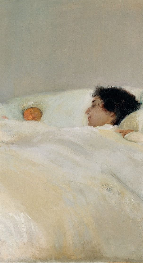 Mother, 1895, Sorolla Museum Joaquin Sorolla y Bastida