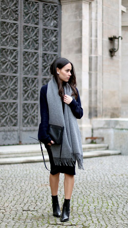 Fall to Winter Transitional Outfit by @nikkiarnold2091 on @shesintentional.