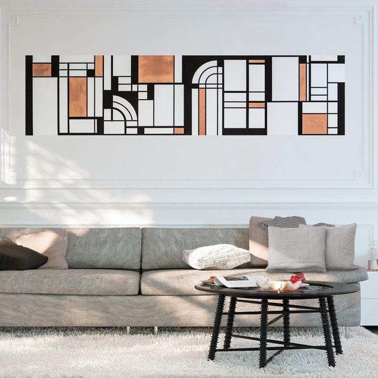 Un papier peint art déco domino studio beauregard