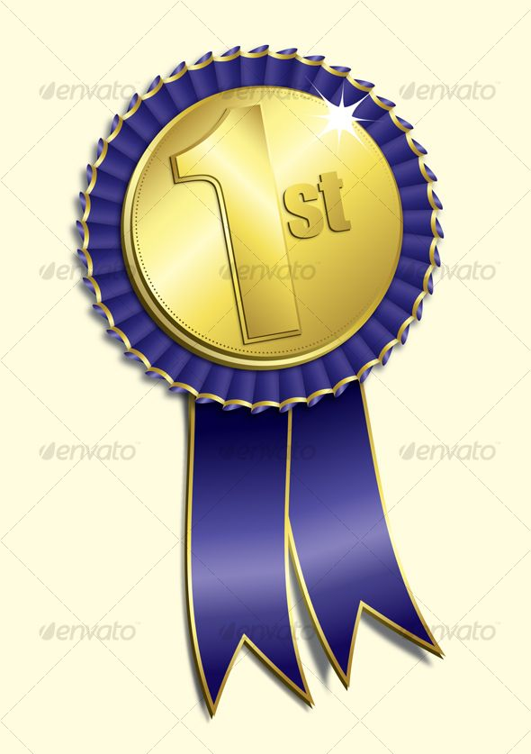 Gold 1st Place Medal Vector Metal Realistic Badge With First Placement Achievement Round Label With Red Laurel Wreath Winner Honor Prize Competition Game Gold Lencana Ilustrasi Latar Belakang
