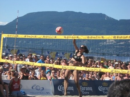 Kitsilano Beach - Corona Open Volleyball Tournament