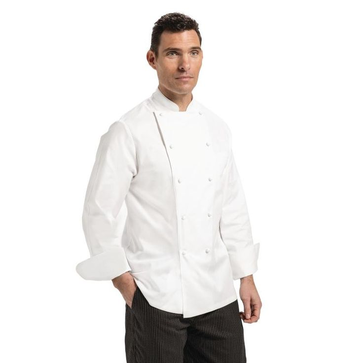 Chef Works Madrid Unisex Chefs Jacket White 50 - A099-50