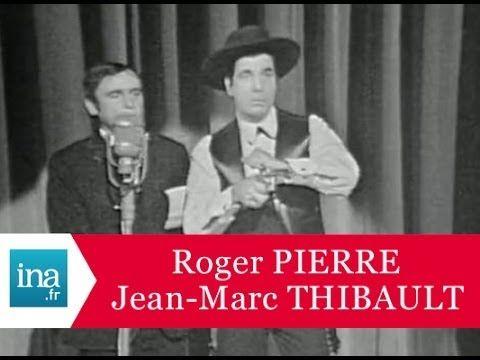 """Roger Pierre et Jean-Marc Thibault """"Le doublage de film"""" - Archive INA"""