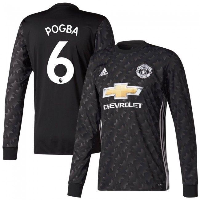 Camiseta del Manchester United 2017-2018 Visitante M/L + Pogba 6 #pogba