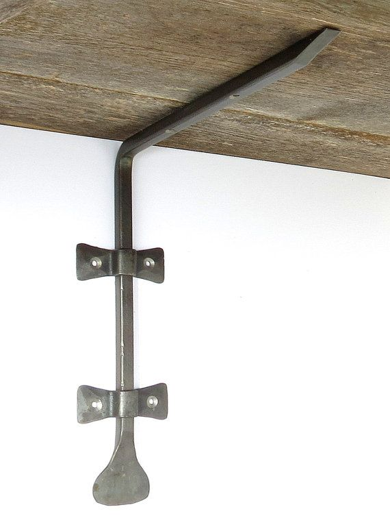 2 Shelf Brackets Hand Forged 10 Quot Deep Wrought Iron Country