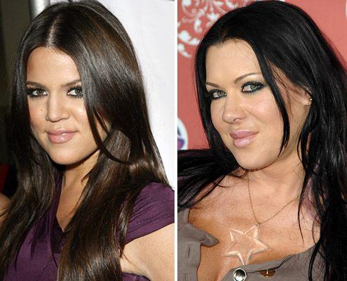 """Celebrity Doppelgängers:  Kardashian, Joanie """"Chyna Doll"""" Laurer"""