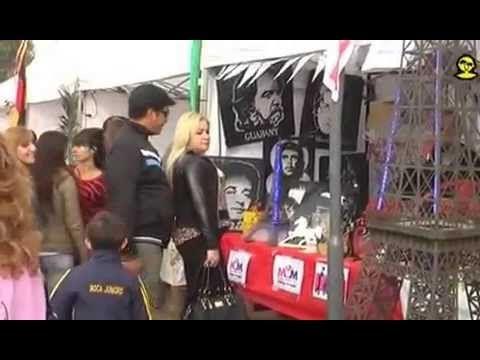 Recorrimos Feria de Colectividades Zarate 2015 - YouTube