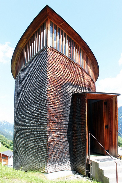 Sogn Benedetg Chapel by Peter Zumthor