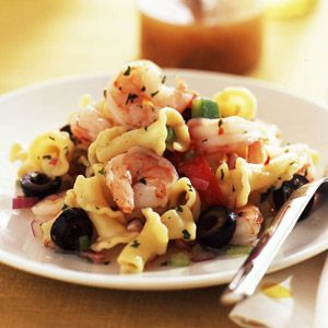 Simple seafood pasta salad recipe