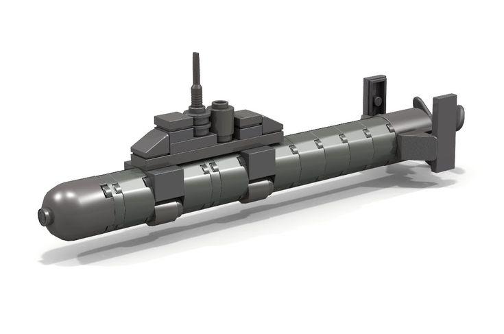 HOW TO BUILD a Lego Mini Submarine - YouTube