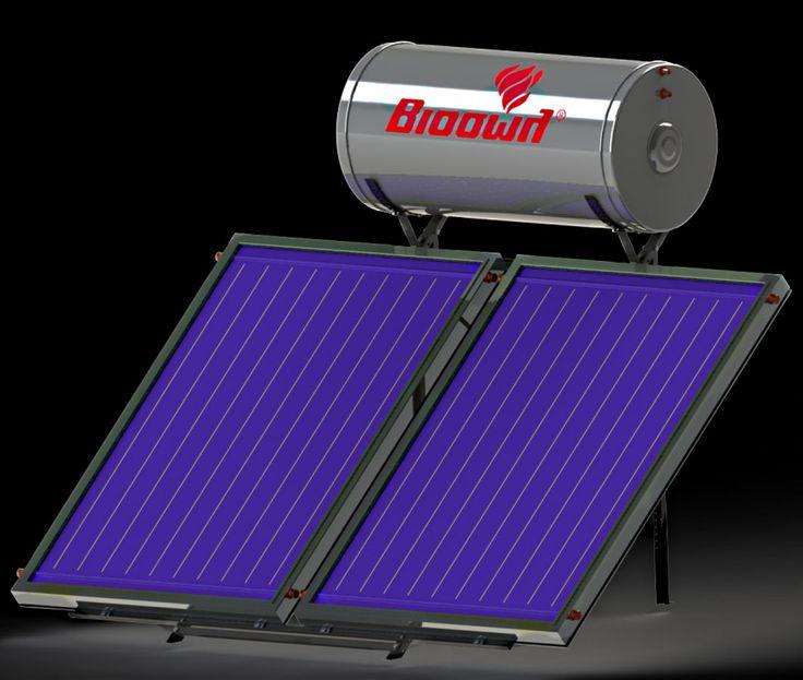 Ηλιακός θερμοσίφωνας με χάλκινο συλλέκτη Βιοσώλ Eco-BioSun 200L