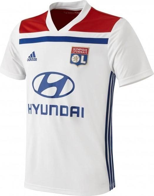 3ee8c7f24 Olympique Lyonnais OL FOOTBALL CLUB HOME 2018 - 19 FÚTBOL SOCCER CLUB KIT  CALCIO SHIRT JERSEY