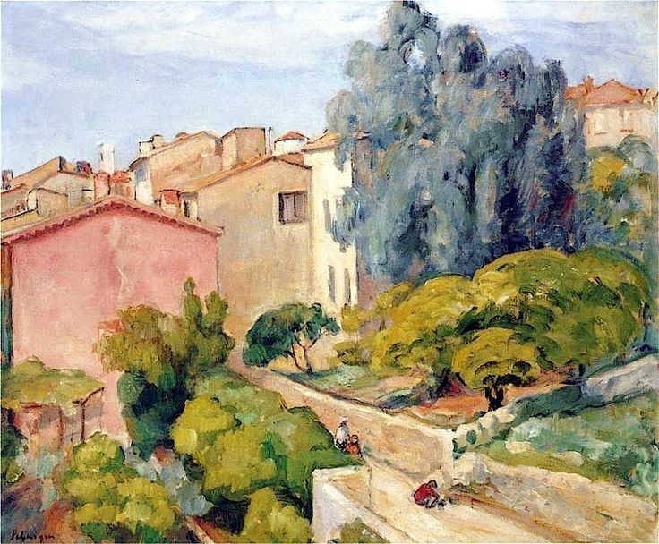 Henri Lebasque -  Village en ete