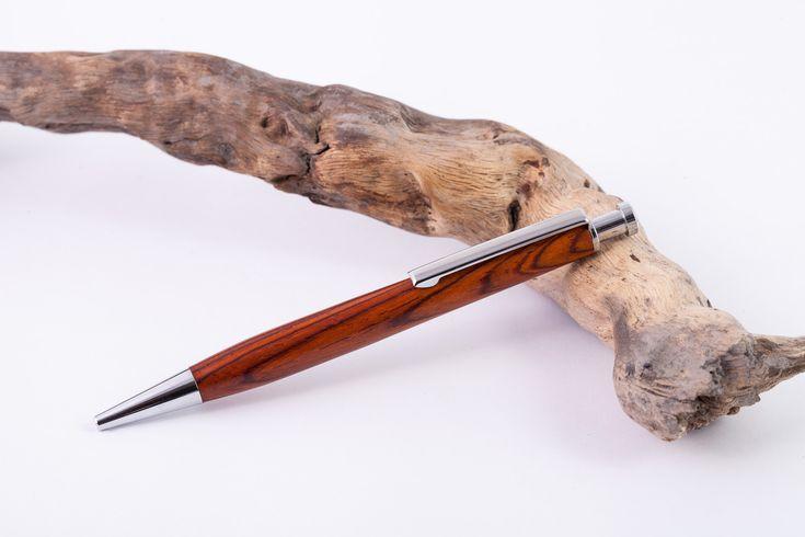 Holz-Klick-Kugeschreiber-Cocobolo