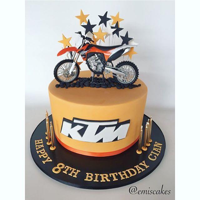 11 best birthday cake images on Pinterest Cake Dirt bike cakes