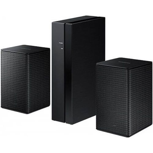Samsung SWA-8000S 2.0 Surround Wireless Rear Speaker Kit Black (2016 Model) NEW