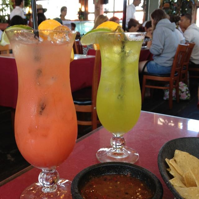 Cocktails on Santa Monica Pier