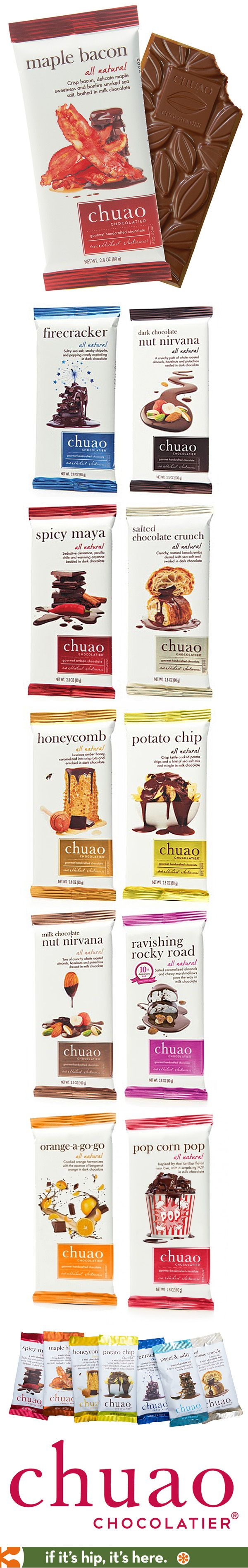 Chuao Chocolatier completely redid their branding since their initial launch in 2007.  This new packaging is much nicer.