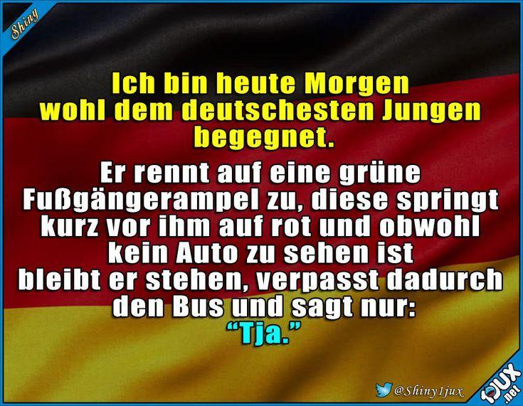 Das Deutsche ist stark in ihm. #typischdeutsch #lu…