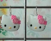 hello kitty earrings