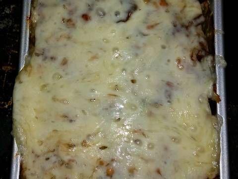 Bacon, Mushroom, Swiss Meatloaf