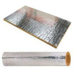 Importancia del aislante para chimeneas para proteger las paredes y aprovechar al máximo el calor de la chimenea. Lana de roca de aluminio y manta de fibra