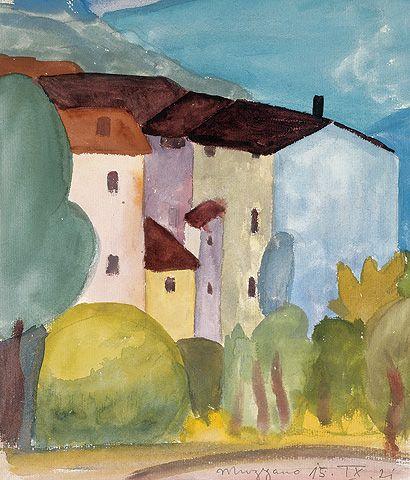 Muzzano, 1921         © Fondazione Hermann Hesse Montagnola