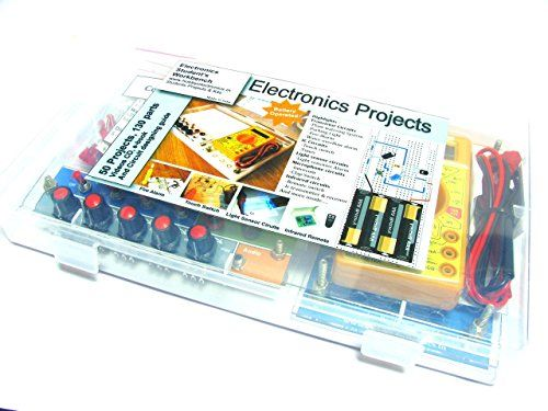 Electronics Project Workbench kit with 50 projects 120 parts Deepak Enterprise http://www.amazon.in/dp/B00VCLHQKI/ref=cm_sw_r_pi_dp_1P8fvb14NPV86