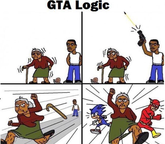 Grand Theft Auto, Fan Art, PC, PS4, Xbox One, Playstation. GTA Logic - Imgur