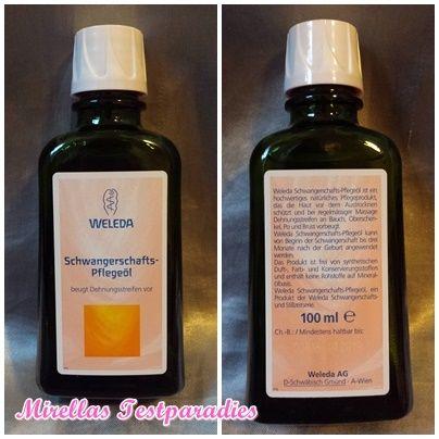 Das Schwangerschafts-Pflegeöl von Weleda | Mirellas Testparadies