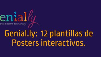 12 plantillas de Posters interactivos realizados con Genial.ly #infografia #infographic #design